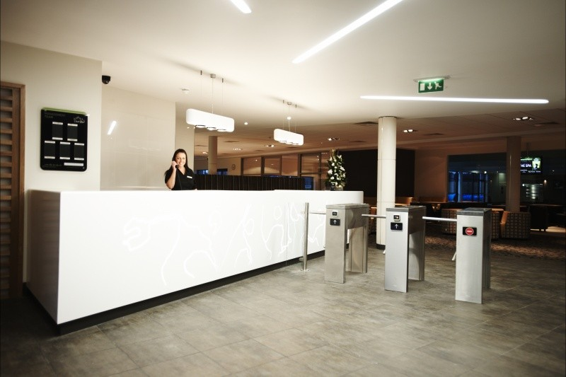 ADL Joinery David Lloyd Exeter Reception Desk