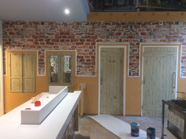 ADL Joinery The Cresent Hinckley Shabby Chic Wall Door Design