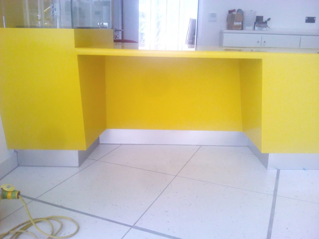 Bespoke Reception Desks ADL Joinery Bespoke Counter Design Manufacture