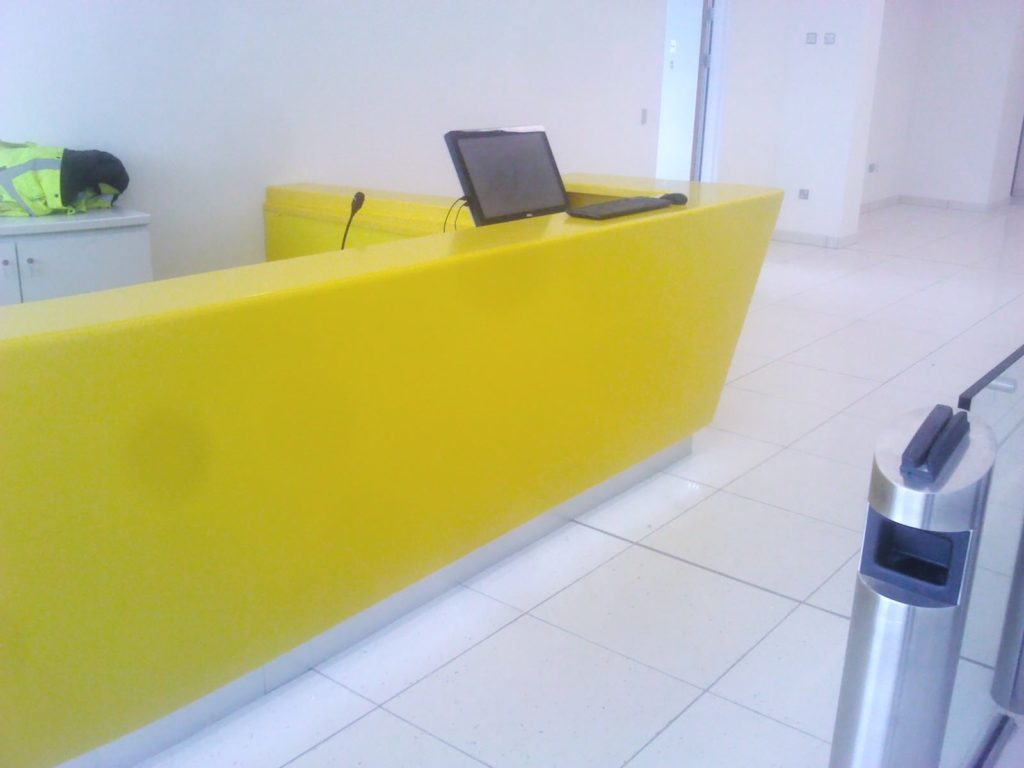 Bespoke Reception Desk ADL Joinery Bespoke Counter